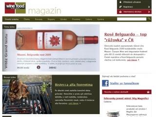 winemarket - úvodní stránka